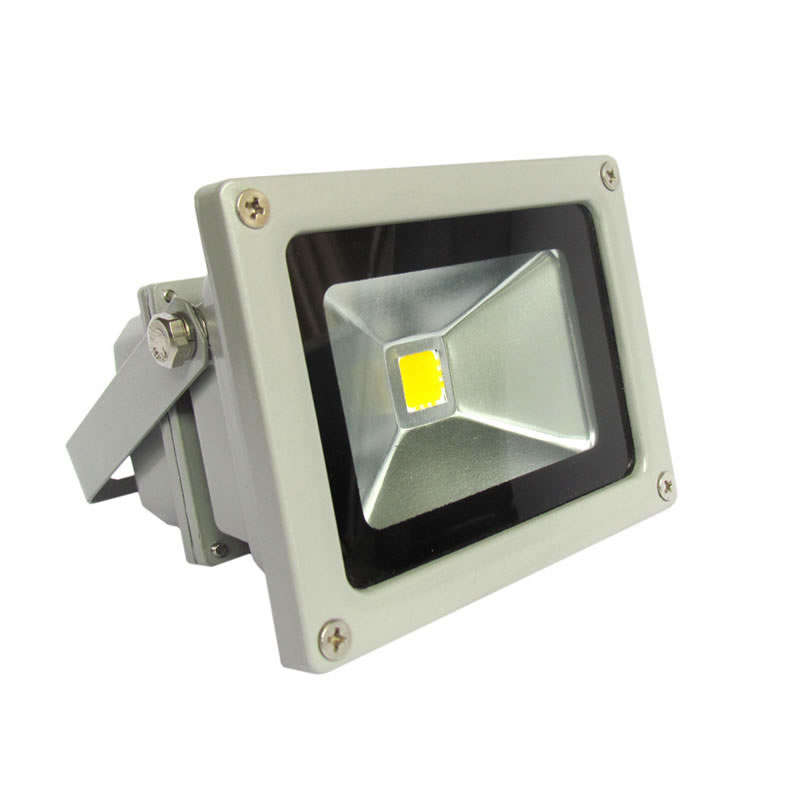 Led outdoor flood light  MICROLED 10W, Warm White